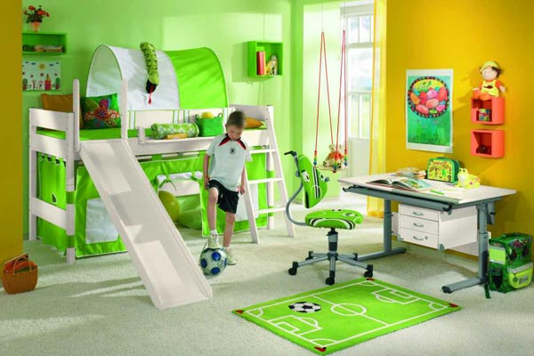 Kinderzimmer Fußball Pictures to pin on Pinterest