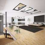 Wintertrends 2012/2013: Loft-Stil mit Leder, Glas, Metall und Holz (Quelle: Thinkstock by Getty-Images)
